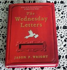 The Wednesday Letters by Jason F. Wright SIGNED 1st/1st NYT Best Seller HC