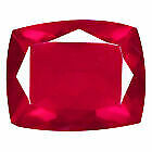 1.20 Carats Natural IF 9.04x6.96 RED FIRE OPAL for Jewelry Setting Cushion Cut