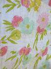 FLORAL BABY GIRL *CLOUD ISLAND* BY TARGET ALL PURPOSE BLANKET 46' X 50'