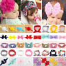 Toddler Bunny Kids Turban Knot Rabbit Headband Girls Bow Hair Bands Head Wrap