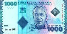 New TANZANIA 1000 Shillings 2016 series, Pick 43 NEW SIGN  SC  / UNC