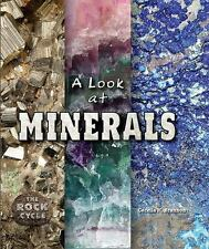 A Look at Minerals (Rock Cycle) by Brannon, Cecelia H