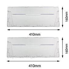 PANNELLO di copertura in Plastica Cassetto Flap Anteriore per INDESIT CA55 Frigorifero Congelatore CAA55 x 2