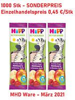 1000 Hipp Frucht Kinder Riegel Restposten Lebensmittel MHD Ware Sonderposten