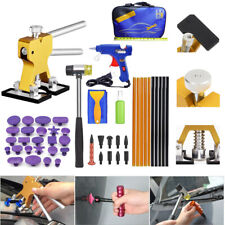Paintless Hail Repair Dent Lifter Puller Ding Removal Tools Bag Kits