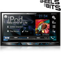 "Pioneer AVH-X5800DAB Car CD DVD 2DIN Bluetooth Stereo 7"" LCD DAB  iPod   Aerial"