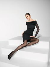 NEW AUTHENTIC WOLFORD SHIRIN BLACK DRESS SIZE LARGE FABULOUS £475