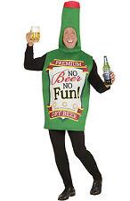 Bierflasche Bierkostüm Flasche Kostüm Herren Einheitsgröße Junggesellenabschied