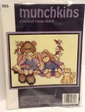 MUNCHKINS COUNTED CROSS STITCH KIT 305 made in USA