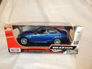 MOTORMAX BMW M3 COUPE BLUE 73182 BNIB 1:18