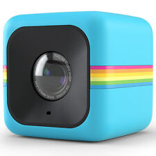 POLAROID CUBE CAMERA VIDEO CAMCORDER HD DIGITAL PICTURE IMAGE POLC3R BLUE
