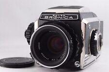 "[Excellent +++] ZENZA BRONICA S2 nikon Nikkor-P 75mm f2.8 6×6 from Japan"""