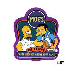 STICKER - The Simpsons Moes Tavern Moe & Homer Beer Decal  SB17