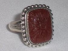 Handmade Anniversary Not Enhanced Sterling Silver Fine Rings