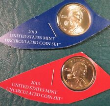2013 Sacagawea P and D Dollars from US Mint Uncirculated Set