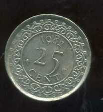 SURINAME  25 cents 1982