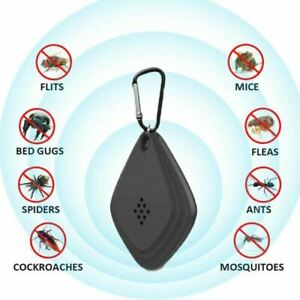 Radiation-free Portable Ultrasonic Electric Mosquito Killer Insect Repellent Mou