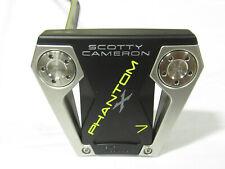 "Used LH Titleist Scotty Cameron Phantom X 7 34"" Putter"