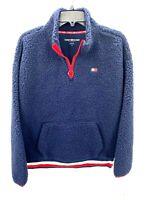 Tommy Hilfiger Sport Womens Size Medium Navy Blue Pullover Jacket NWT