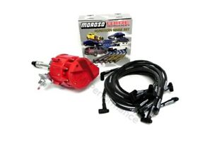 Big Block Chevy 396 427 454 HEI Distributor and 8mm Moroso Spark Plug Wires Kit