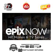 Epix Now ✔️Access 24 Months Warranty✔️Instant Delivery 🔥 HOT DEALS