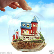 DIY Handcraft Miniature Project Kit Wooden Dolls House The Alice's Magic Castle