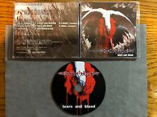 S.C.A.L.P. - TEARS AND BLOOD 2004 1PR NEW! ANATHEMA PARADISE LOST MY DYING BRIDE
