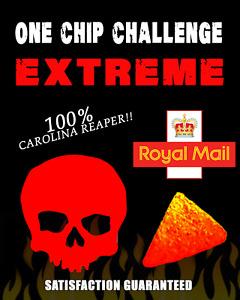 ONE CHIP CHALLENGE .... WORLDS HOTTEST CHILLI CHIP 🔥🔥🔥