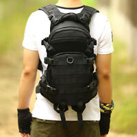 25L Tactical Backpack Army Molle  Bag Hiking Travel Hydration Bladder trekking