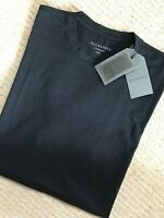 "ALL SAINTS VINTAGE BLACK ""JOVIAN"" S/S CREW T-SHIRT TOP - S M L - NEW & TAGS"