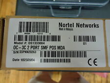 DS1333004 NORTEL NETWORKS DC-3C 2 PORT SMF MDA FOR 8683P BRAND NEW!