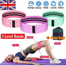 3PC/SET Resistance Bands Booty Fabric Glutes Hip Circle Legs Squat Yoga Non Slip