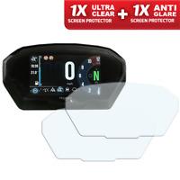 TRIUMPH TIGER 800 1200 2018+ Screen Protector: 1 x Anti-Glare & 1 x Ultra-Clear