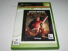 Star Wars Knights of the Old Republic Xbox Original PAL (Classics) Preloved *NM*