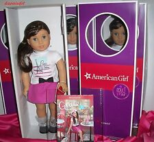 """AMERICAN GIRL DOLL OF THE YEAR 2015  GRACE THOMAS WITH BRACELET- BOOK- NEW 18"""""""