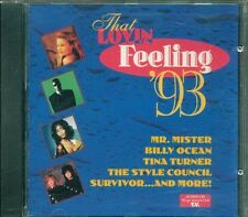That Lovin' Feeling '93 Billy Ocean/Tina Turner/Style Council/Survivor Cd Ottimo