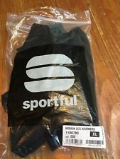 Sportful NoRain Leg Warmers (Black, XL)
