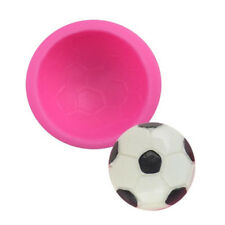 Novelty Football Mould silicone Mold Ball Soap Sugar Molds Cake Decoration FR
