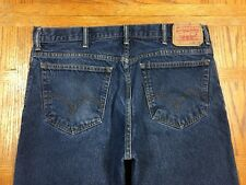 LEVIS 517 BOOT CUT VINTAGE JEANS HAND MEASURED 38 x 31 Tag 38 x 30 BEST H16