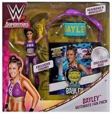 WWE BAYLEY WOMENS MATTEL ULTIMATE FAN PACK WRESTLING ACTION FIGURE DVD RINGS WWF