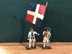 Tommy Atkins: French Infantry Of c1750. Fine, 54mm Metal Models