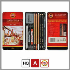 KOH-I-NOOR 8890, Set di arte-Gioconda professianal Art Set 10pcs