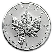 2017 Canada 1 oz Silver Maple Leaf Cougar Privy Reverse Proof - SKU #114739