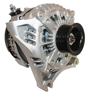 NEW 350AMP HIGH OUTPUT ALTERNATOR FOR FORD E-SERIES VANS E-250 E-350 SUPER DUTY