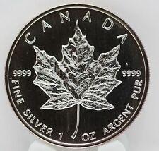 Canada 1999 Maple Leaf $5 Coin .9999 Silver 1 oz Ounce - Canadian bullion LE437