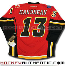 JOHNNY GAUDREAU CALGARY FLAMES NEW HOME JERSEY REEBOK RBK 7185 PREMIER