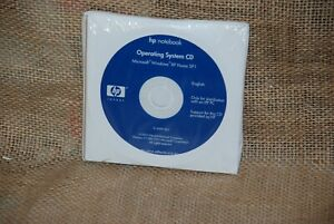 HP Notebook And PC Windows XP Home SP1 QuickRestore System Recovery CDs 2003