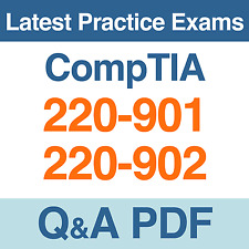CompTIA A+ Certification Practice Tests 220-901 & 220-902 Exams Q&A PDF