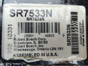 Starter Motor-New Bosch SR7533N UPC 028851499330
