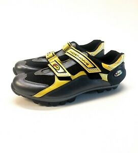 Northwave Freeride MTB Road Cycling Shoes MODIFIED Men's 12.5 Yellow Black